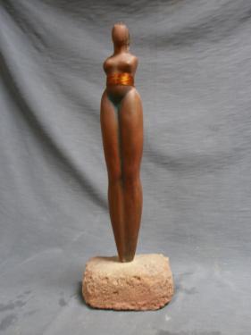 La primitive ...H : 45 cm