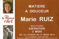 MATIERE A DOUCEUR... , Ruiz Marie Sculpteur
